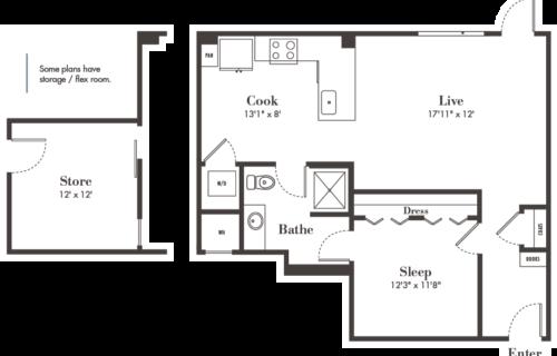 Denver one-bedroom apartments