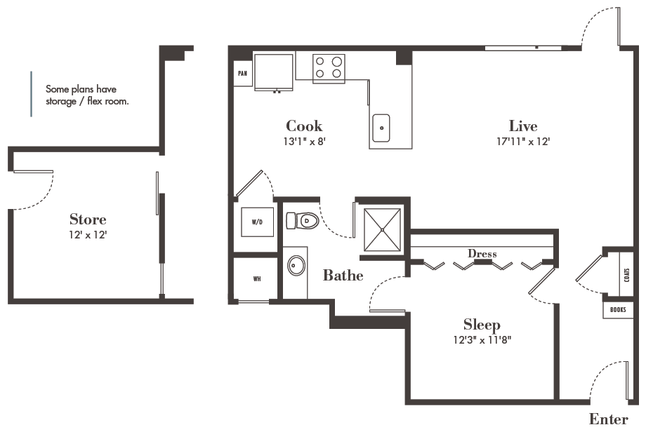 one-bedroom Denver apartments