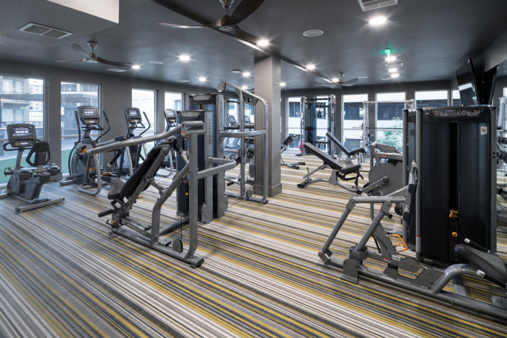 state of the art fitness center at alexan 20th street station - Fun is Never Far Away